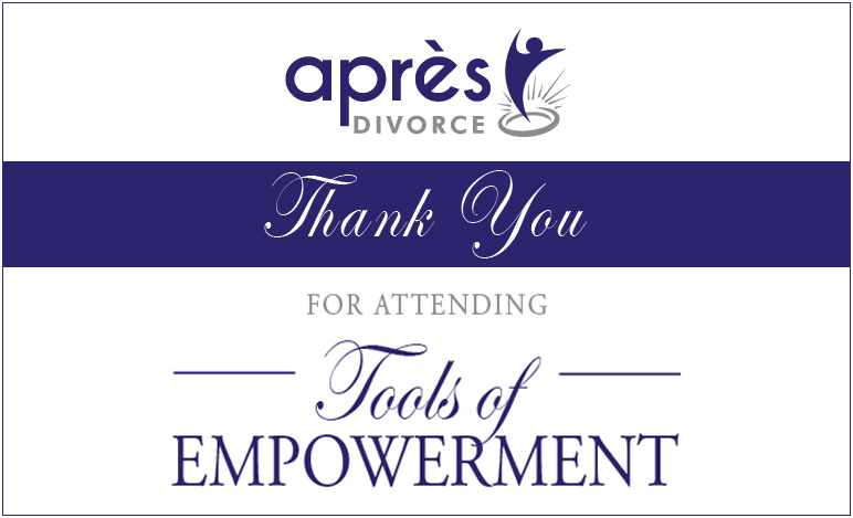 Thank You for Attending the Tools of Empowerment Event